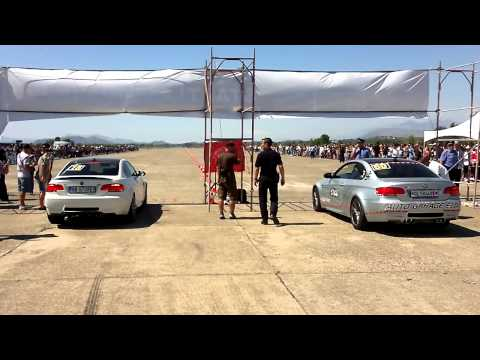 Gjader 2012 Rca [race Club Albania] Bmw M3 E92 Vs Bmw M3 E92 video