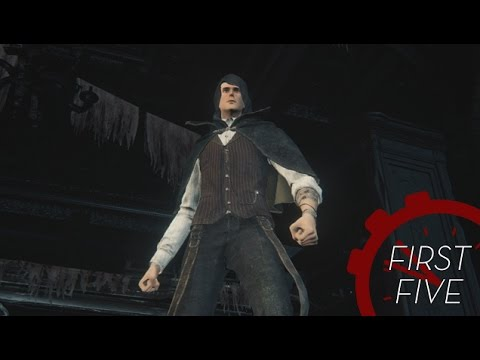 The First Five Minutes Of Bloodborne video