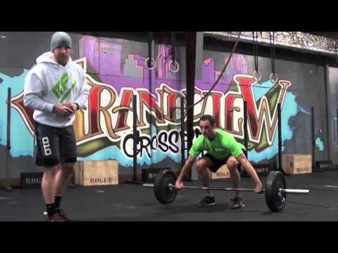 Olympic Lift Snatch with Musclepharm athlete Graham Holmberg Image 1