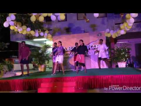 mallu dance at tiss hyderabad freshers 2016-17, i am a mallu. thumbnail