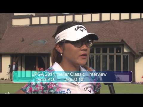 LPGA Mijier Classic interview Lydia Ko