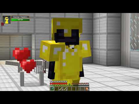 Minecraft | SCARY SKELETONS MOD! (Meet SKELEBRINE!!) | Mod Showcase