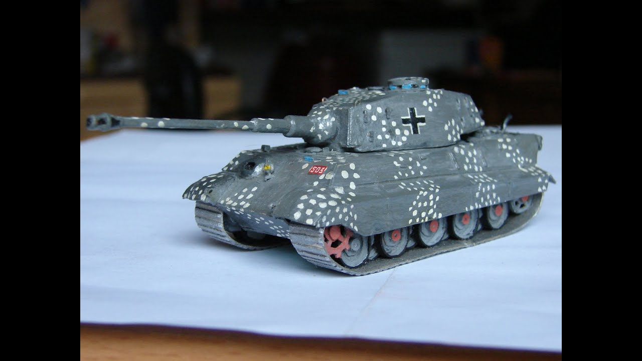 Модели танков 1 6 своими руками 50