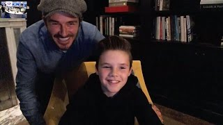 Cruz Beckham Debuts Single 'If Everyday Was Christmas' On Capital
