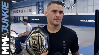 American Top Team media day - Dustin Poirier full MMA Junkie interview