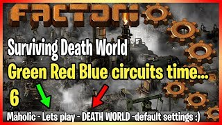 Factorio - Death world Factory life -SP- with [maholic] Part 6