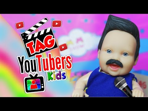 Tag Youtubers Kids por Lilly Doll