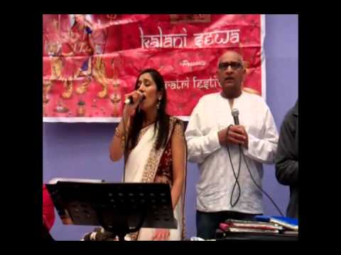 2 of 5 Navratri Aarti 2012 Anand Group - Gohil Brothers & Manisha...