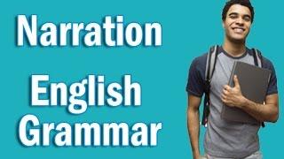 Basic English Grammar in Hindi | Narration
