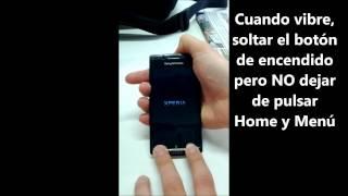 Sony Ericsson Xperia Arc S travando lento pedindo senha como aplicar o hard reset