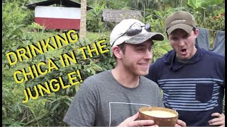 Trying Chicha: The Saliva-Fermented Yucca Drink :)