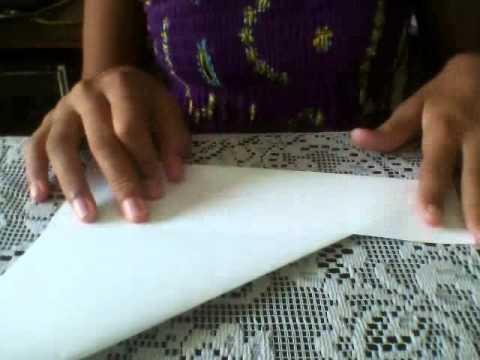 Como hacer un vaso de papel ORIGAMI!