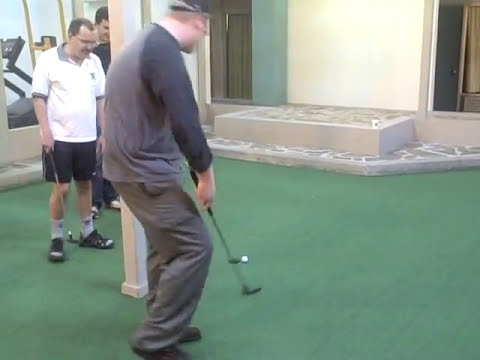 Chess:  Grandmaster Golf with GM Jaan Ehlvest