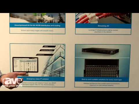 InfoComm 2015: Crestron Shows Off the DM 3.0 Scaler with Zero Latencey Uncompressed 4K