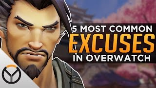 Overwatch: Top 5 Excuses EVERYONE Makes