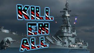8 KILLS Massachusetts    World of Warships