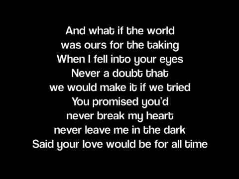 When You Were Mine- Lady Antebellum (Lyrics) Music Videos