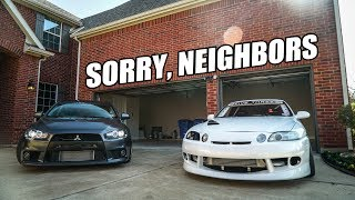 MOVING CARS TO THE NEW HOUSE!! (sorry, neighbors)