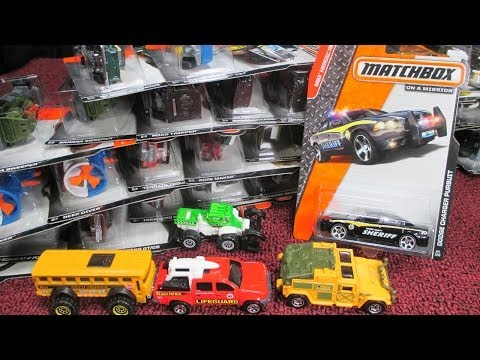 Matchbox 2014 H-Case July Factory Sealed Case Unboxing Video