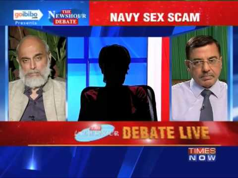 The Newshour Debate: Will the Indian Navy conduct a fair probe in the sex scandal? (Part 1 of 2)