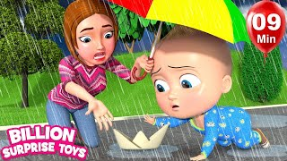 RAIN Babies Song - Simple Animation for kids