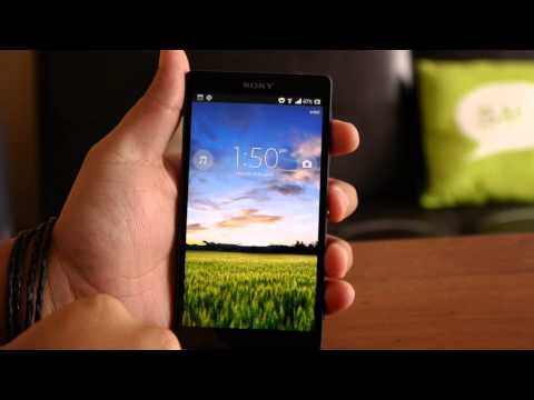 Sony Xperia ZL. review en español