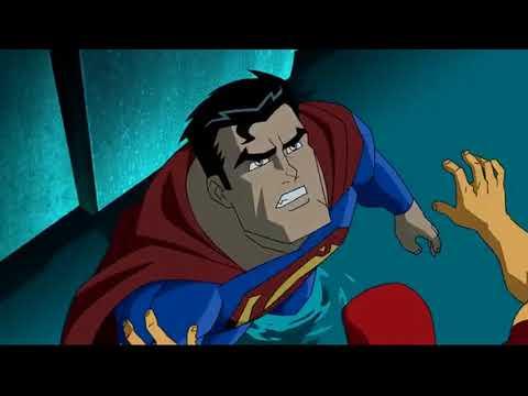 Супермен и Бэтмен против супергероев Лютора ч 1