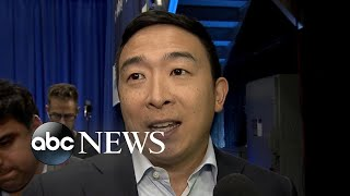 Andrew Yang talks Republicans and impeachment