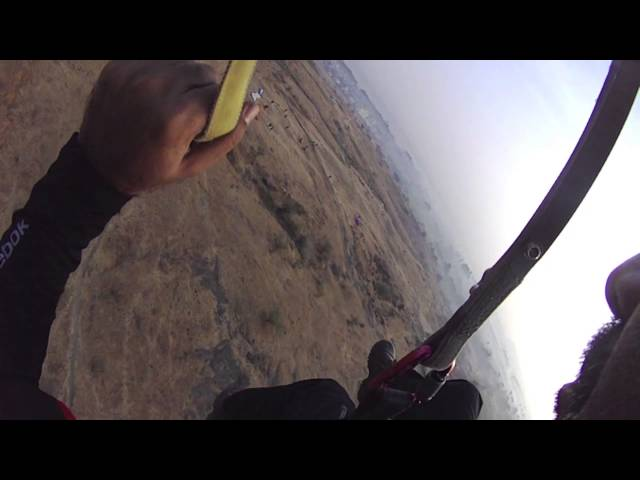 Ashutosh - Paragliding - First Solo Flight