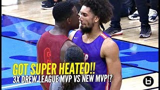 Montrezl Harrel vs Nick Young Drew League DEBUTS!! 3x Drew League MVP Gets SUPER HEATED!!!