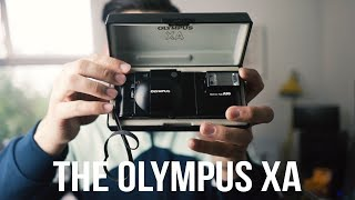 The Olympus XA : The best film street photography camera?