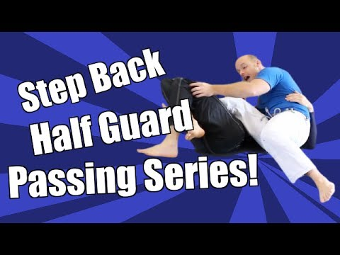 Half Guard Step Back Pass Series - Jason Scully - (4 Options - Pass, Mount, & Back Takes) Image 1