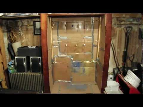 DIY How To Make An Indoor Spray Paint Booth. Homemade Fishing Lures.