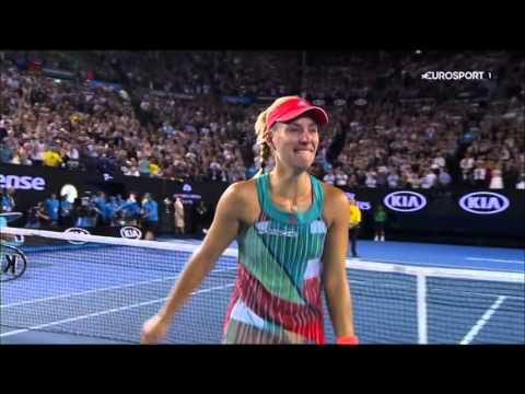 Angelique Kerber gewinnt Australian Open - Live-Deutsch Kommentar eurosport