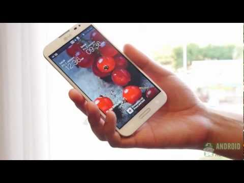 LG Optimus G Pro Hands On & First Look!