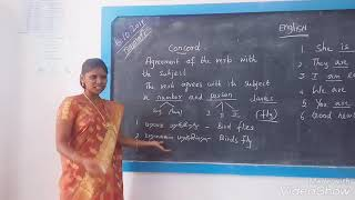 Learn English Grammar with Aruna -  The Concord.