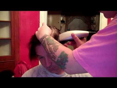 Ronald Bald?!?!?!long Hair Head Shave! video