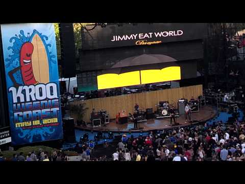 Jimmy Eat World - I Will Steal You Back - KROQ Weenie Roast 05-18-2013