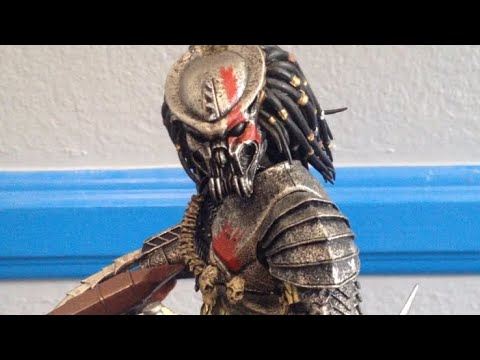 Neca ultimate scar face predator action figure review
