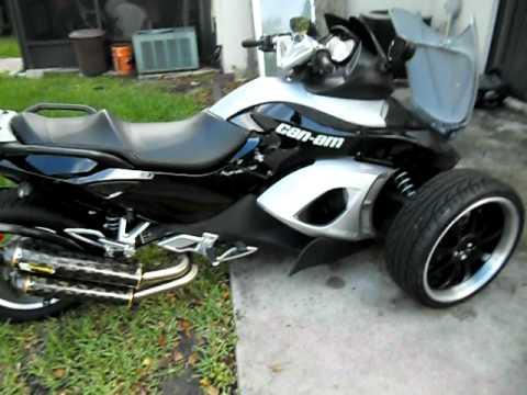 Custom Paint Spyder Motorcycle Jules Custom Spyder Motorcycle