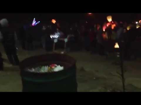 Globos de cantoya. En playas de Tijuana