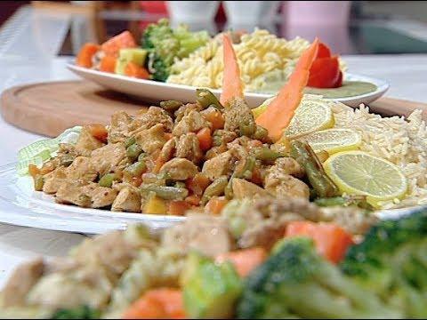 طريقه الدجاج الصحي اللذيذ والدجاج الصحي بصوص البروكللى من غفران كيالي حلقه هيك نطبخ