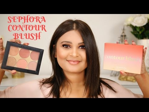 NEW SEPHORA COLLECTION CONTOUR BLUSH PALETTE   REVIEW & SWATCHES