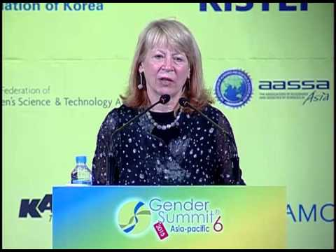 Geraldine Richmond: Women Leading in Research and Innovation. GS6 Keynote