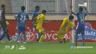 هدف القادسية الأول ضد الفتح (أحمد الناظري) في الجولة 9 من دوري جميل