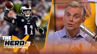 Don't worry about Carson Wentz & Eagles, Colin thinks Aaron Rodgers may retire soon | NFL | THE HERD