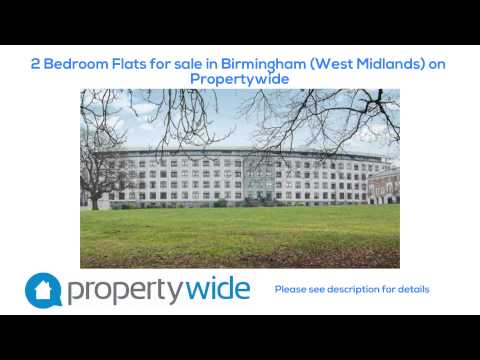 2 Bedroom Flats for sale in Birmingham (West Midlands) on Propertywide