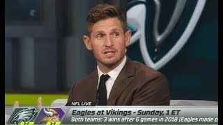 Eagles vs Vikings Week 6 Game Preview | Who will win? NFL Live