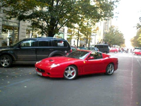 Ferrari Superamerica in Prague Video