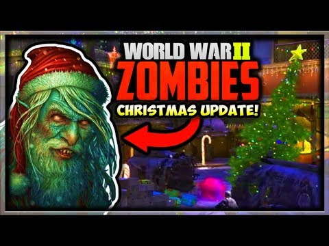 Call of Duty WW2 Zombies Winter Siege DLC Update! New Winter Map & Weapons (COD WW2 Winter Siege)